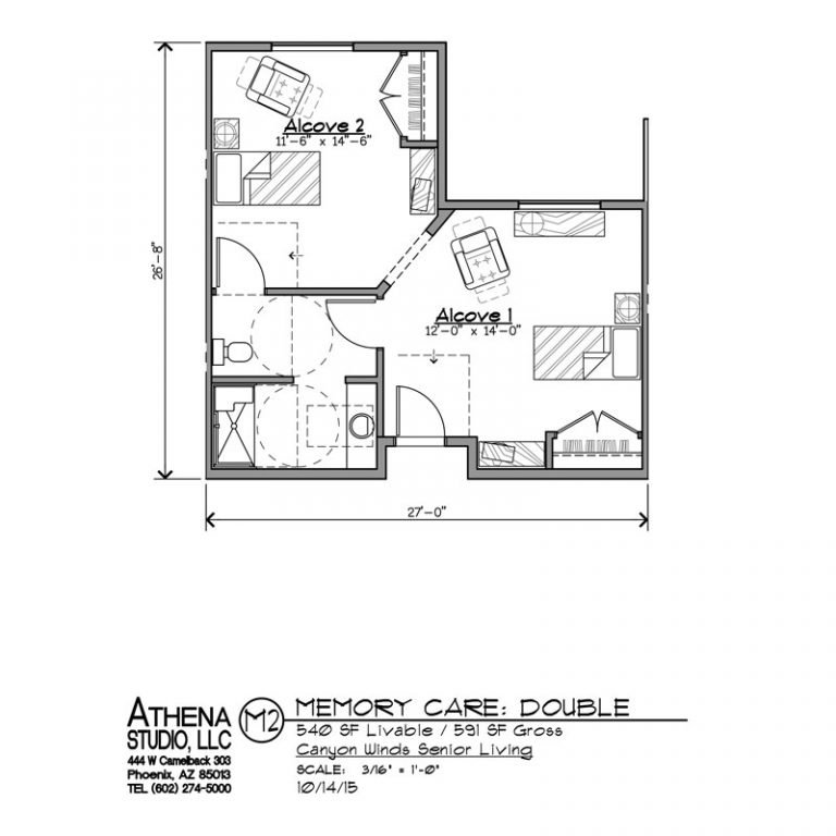 Memory Care Unit - 2 Bedrooms