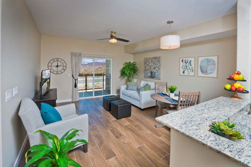 Independent Living Facility - Living Room