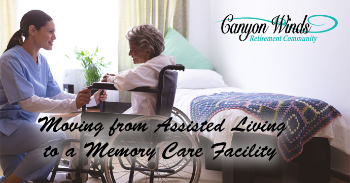 Moving From Assisted Living to a Memory Care Facility