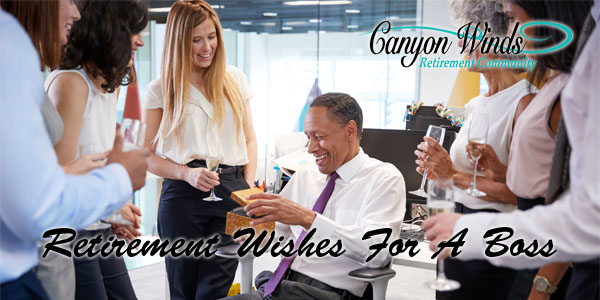 Retirement Wishes For A Boss