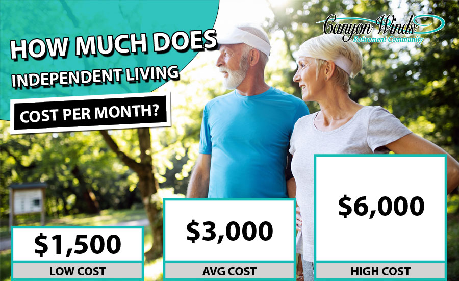 Independent Living Cost Per Month