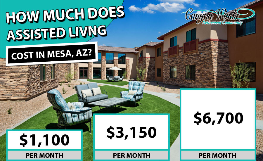 Assisted Living Cost Mesa AZ