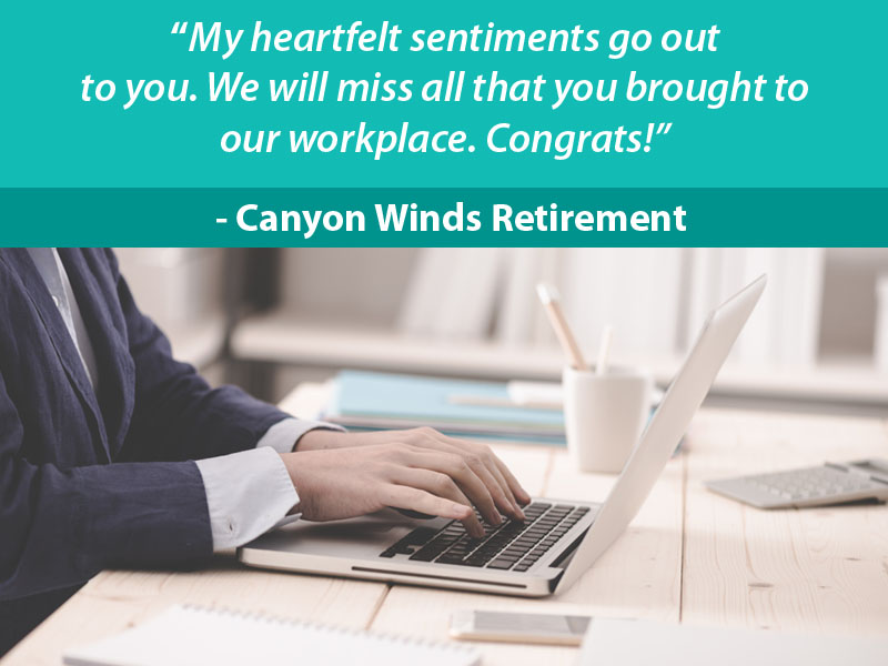 Retirement Wishes for Boss - 5
