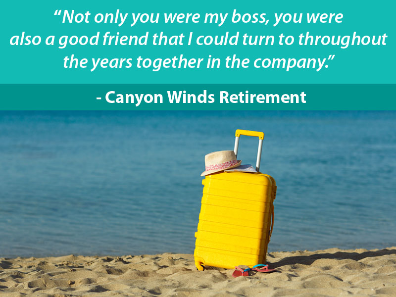 Retirement Wishes for Boss - 6