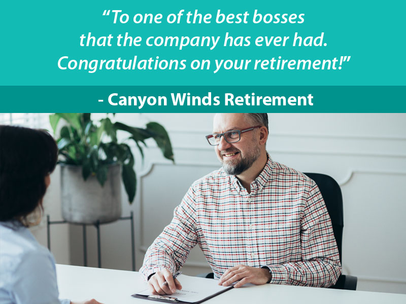 Retirement Wishes for Boss - 8